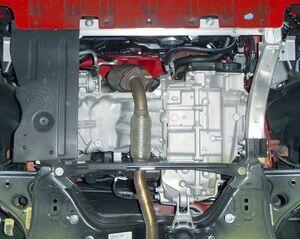 Защита двигателя Opel Corsa Е - фото №6