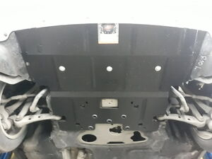 Защита двигателя BMW 5 F10 - фото №3