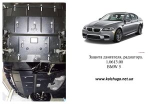 Защита двигателя BMW 5 F10 - фото №1