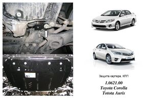 Защита двигателя Toyota Corolla E14 / E15 - фото №1