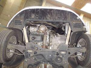 Защита двигателя Peugeot 308 2 - фото №4