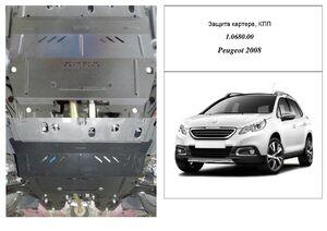 Захист двигуна Peugeot 2008 (1-е покоління) - фото №3