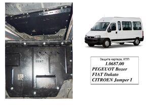 Защита двигателя Peugeot Boxer 1 - фото №3