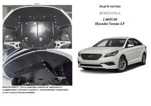 Захист двигуна Hyundai Sonata LF - фото №1