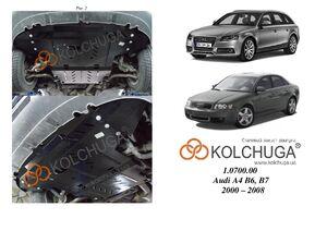 Защита двигателя Audi A4 B6 - фото №5