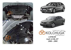Захист двигуна Audi A4 B6 - фото №5