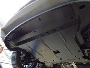 Защита двигателя Kia Rio 5 - фото №6