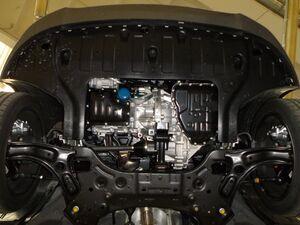 Защита двигателя Kia Rio 5 - фото №7