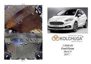 Защита двигателя Ford Fiesta 8 - фото №1