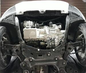 Защита двигателя Chery Tiggo 7 - фото №3