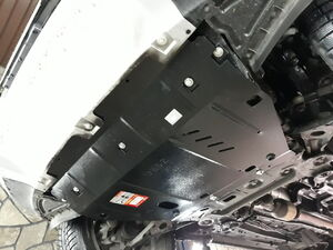 Защита двигателя Chery Tiggo 7 - фото №5