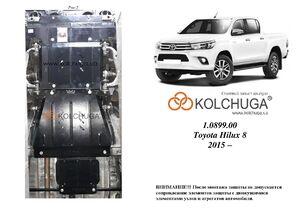 Защита двигателя Toyota Hilux 8 - фото №1