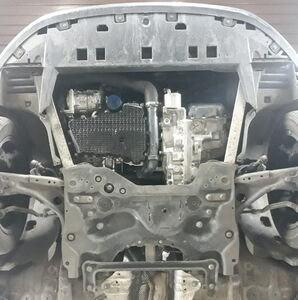 Защита двигателя Citroen Berlingo 3 - фото №4