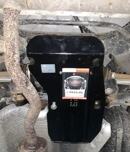 Захист двигуна Nissan Rogue T32 USA - фото №7