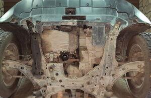 Защита двигателя Honda CR-V 3 - фото №3