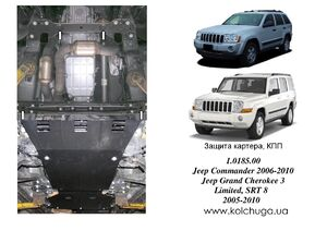 Захист двигуна Jeep SRT-8 - фото №1