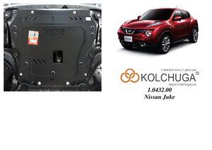 Защита двигателя Nissan Juke F15 - фото №1