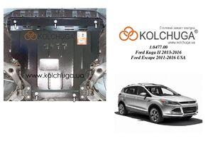 Защита двигателя Ford Kuga EcoBoost - фото №1