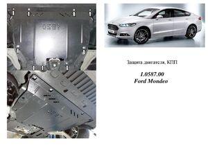 Захист двигуна Ford Fusion 2 USA - фото №1