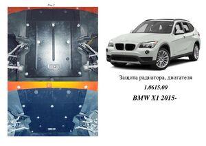 Защита двигателя BMW X1 E84 - фото №4