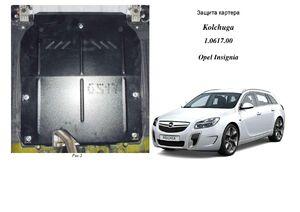 Защита двигателя Opel Insignia A - фото №3
