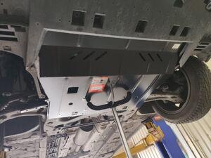 Защита двигателя Peugeot 308 2 - фото №5