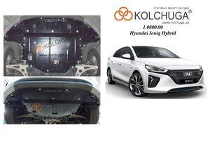 Защита двигателя Hyundai Ioniq Hybrid + Electro - фото №1