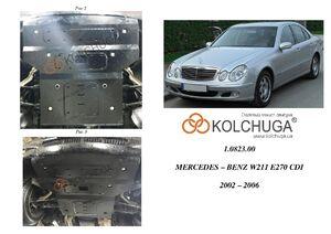 Защита двигателя Mercedes-Benz E-class W211 - фото №3