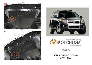 Защита двигателя Ford Escape 2 - фото №1