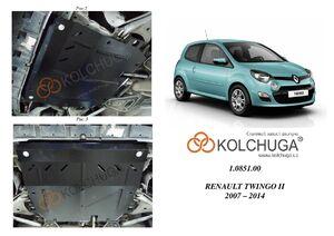 Защита двигателя Renault Twingo II - фото №1