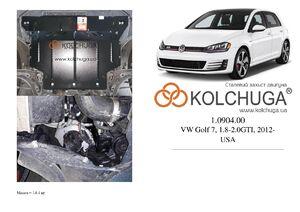 Захист двигуна Volkswagen Golf 7 - фото №1