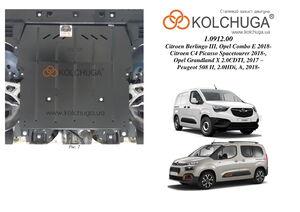 Защита двигателя Peugeot Partner 3 - фото №5