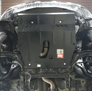 Защита двигателя Nissan Rogue T32 USA - фото №2