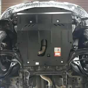 Защита двигателя Nissan Rogue - фото №6