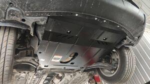 Защита двигателя Nissan Rogue T32 USA - фото №4