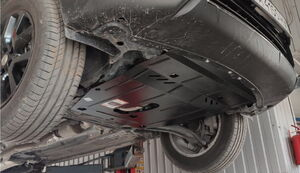 Защита двигателя Nissan Rogue T32 USA - фото №5