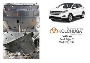 Защита двигателя Ford Edge 2 - фото №3