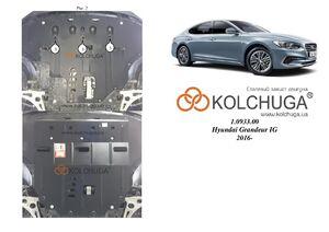 Защита двигателя Hyundai Grandeur 6 - фото №1