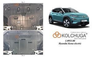 Захист двигуна Hyundai Kona - фото №3