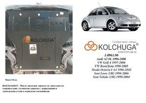 Захист двигуна Volkswagen New Beetle - фото №1