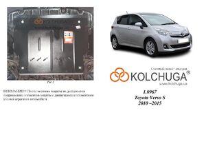 Защита двигателя Toyota Verso S - фото №1