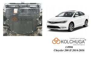 Защита двигателя Chrysler 200 2 - фото №1