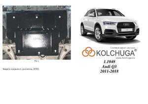 Защита двигателя Audi Q3 - фото №1