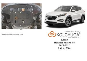 Захист двигуна Hyundai Tucson 3 - фото №5