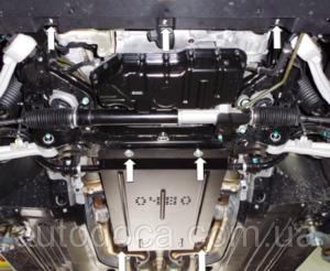 Защита двигателя Hyundai Equus - фото №5