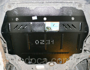 Защита двигателя Skoda Yeti - фото №4