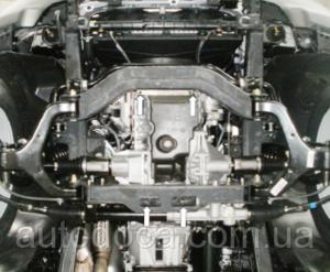 Защита двигателя Ssang Yong Rexton W - фото №5
