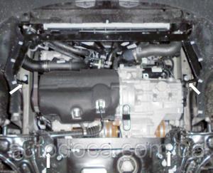Захист двигуна Volkswagen Caddy 2 - фото №8