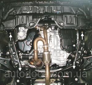 Защита двигателя Toyota Camry 50 - фото №5