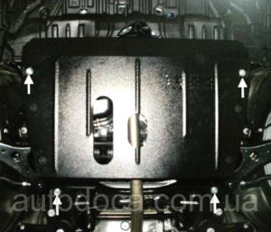 Защита двигателя Toyota Camry 50 - фото №4